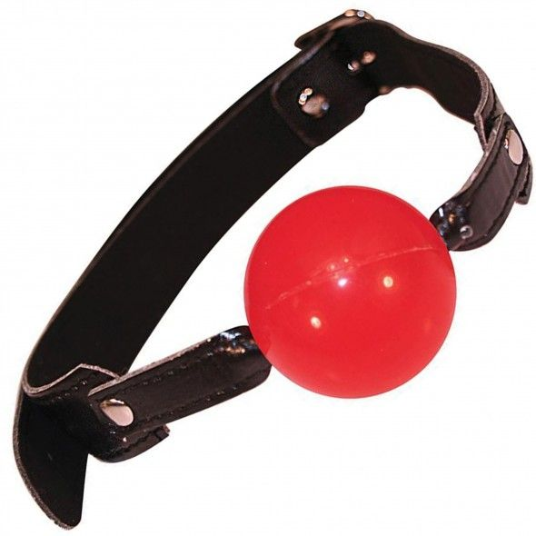 S&M Solid gagball Red
