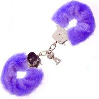 Furry Love Cuffs - Lila