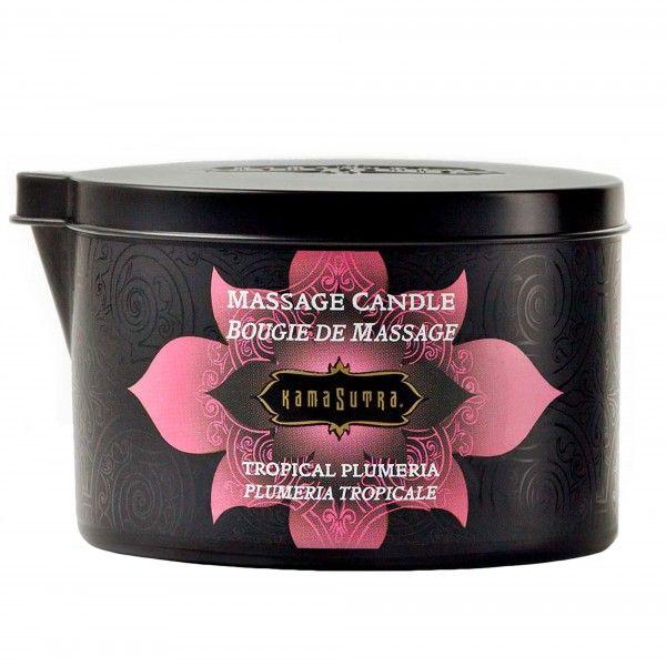Kama Sutra Massage Candle Tropical Plumeria