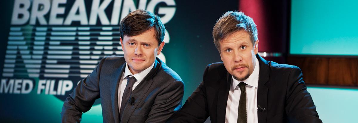 Sexleksakerna från Breaking News med Filip och Fredrik